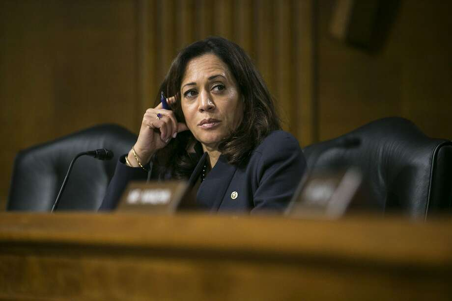 Sen. Kamala Harris, D-Calif., is a member of the Senate Intel ligence Committee that will question the former FBI chief. Photo: AL DRAGO, NYT