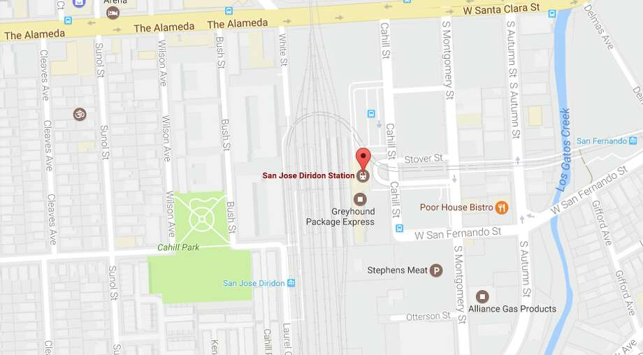 Google is considering opening an enormous new office in San Jose, potentially bringing thousands of jobs there. The discussed development would be located near Diridon Station. Photo: Screen Grab