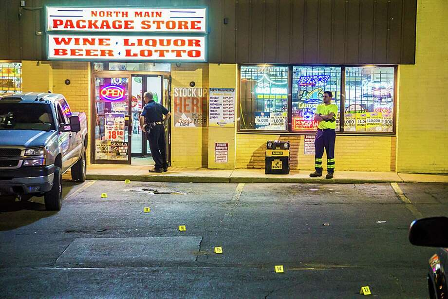 On Friday, May 26 Ansonia police responded to a stabbing that occurred at the North Main Package Store. Police expect to make arrests for this incident soon. Photo: Contributed Photo / Contributed Photo / Michael Hunter