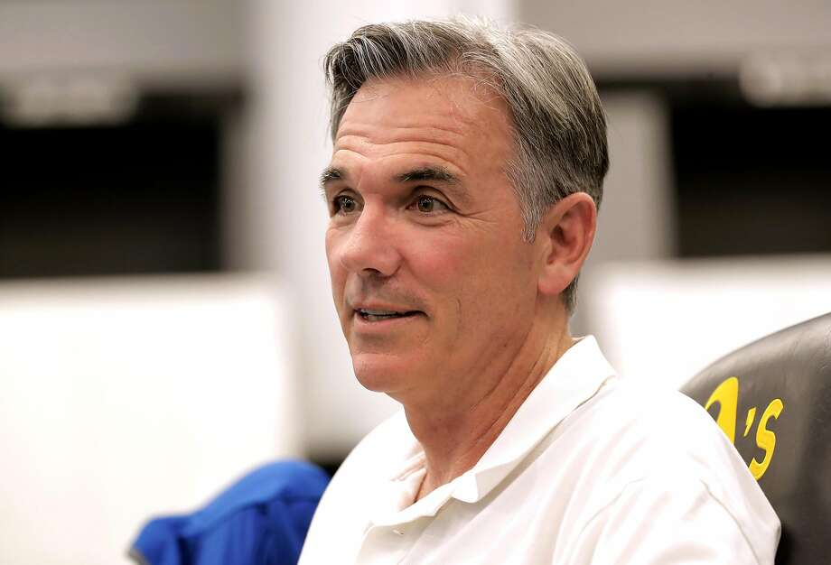 Oakland Athletics Vice President Of Baseball Operations Billy Beane Prepares For The Upcoming