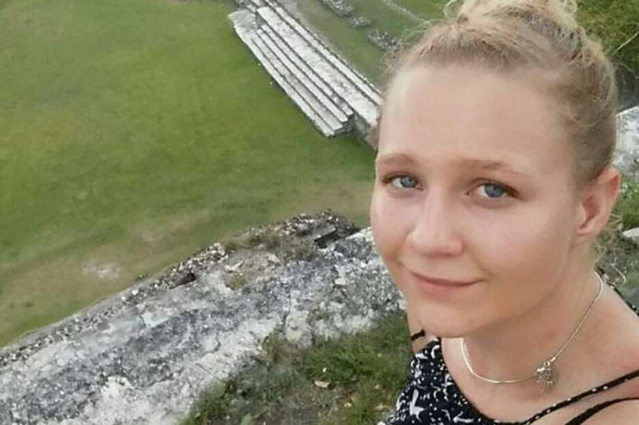 "This picture obtained by AFP on June 06, 2017 as it was made available on social networks shows an undated and unlocated ""selfie"" picture of Reality Leigh Winner.  US authorities arrested the 25-year-old woman, Reality Leigh Winner, who worked for an NSA subcontractor, soon after a top secret National Security Agency report on Russian interference in the US election leaked and was posted by The Intercept, a news website.  / AFP PHOTO / OFF / - / RESTRICTED TO EDITORIAL USE -  NO MARKETING - NO ADVERTISING CAMPAIGNS - DISTRIBUTED AS A SERVICE TO CLIENTS  -/AFP/Getty Images Photo: - / AFP/Getty Images / AFP or licensors"