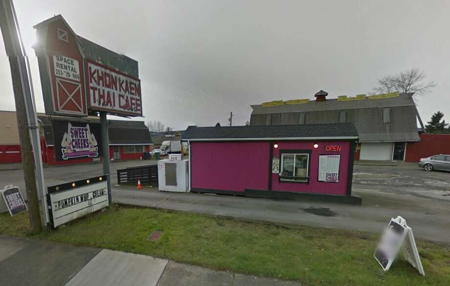 A 29-year-old man was charged with indecent exposure with sexual motivation last week after police say they caught him masturbating while staring at a bikini barista in Auburn. Photo: Google Maps
