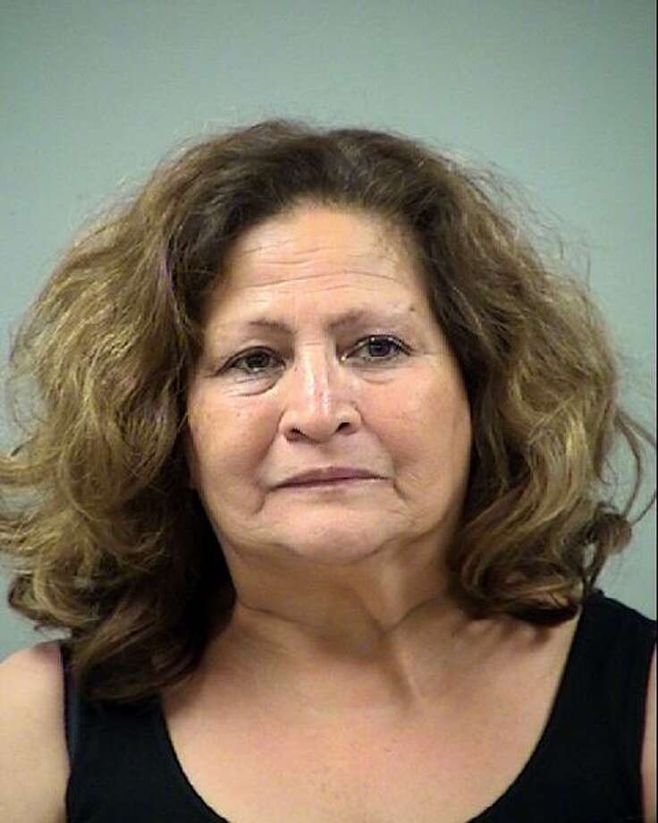 Alicia Cano Saenz, 61, was charged with aggravated assault with a deadly weapon, according to court records. Photo: Bexar County Sheriff's Office