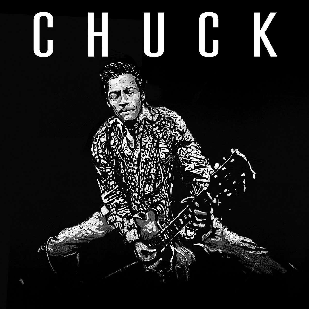 "This image released by Dualtone shows ""Chuck,"" the final album by Chuck Berry. (Dualtone via AP)"