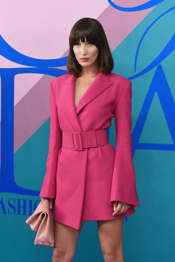 Bella Hadid attends the 2017 CFDA Fashion Awards at Hammerstein Ballroom on June 5, 2017 in New York City.Keep clicking to see what Gigi Hadid, the Olsen Twins, and Nicole Kidman wore to the 2017 CFDA Fashion Awards. Photo: Presley Ann/Patrick McMullan Via Getty Images