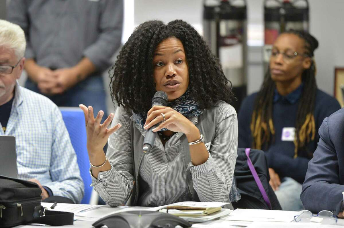 CTNext Executive Director Gwendolyn Thames on May 11, 2017, in Norwalk. On June 7, CTNext announced grants for Stamford, Hartford, New Haven and New London as part of the