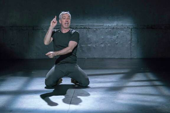 """Stephan Wolfert, star and writer of """"Cry Havoc,"""" being staged at 4th Wall Theatre Company."""