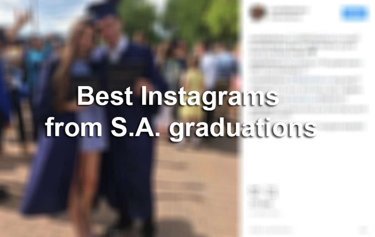 Best Instagrams from San Antonio high school graduations.
