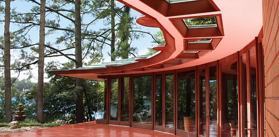 Frank Lloyd Wright's Cooke House in Virginia.toptenrealestatedeals.com Photo: TopTenRealEstateDeals.com