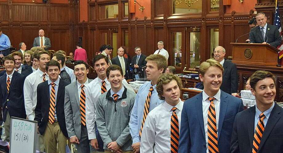 CT H.S.: Ridgefield State Hockey Champs Toasted In Hartford - Connecticut Post