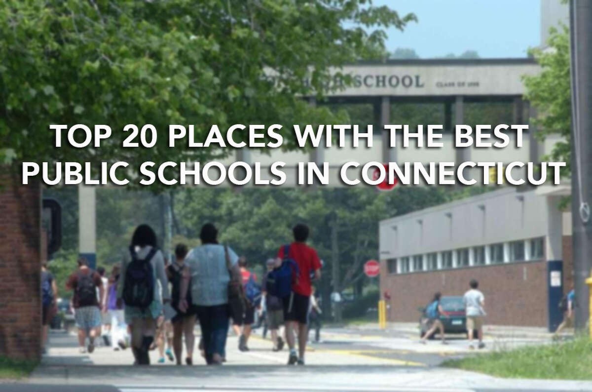 Click through to see the top 20 places with the best public schools in Connecticut, according to Niche.