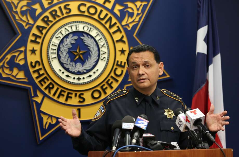 Harris County Sheriff Ed Gonzalez held a press conference about the investigation of John Hernandez's death Wednesday, June 7, 2017, in Houston. ( Godofredo A. Vasquez / Houston Chronicle ) Photo: Godofredo Vasquez, Houston Chronicle