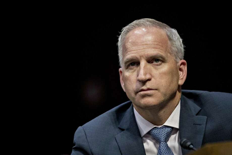 """Robert Cardillo, director of the National Geospatial-Intelligence Agency (NGA), has set up an agency outpost in San Antonio. """"Go where the talent exists. Go where the innovation is happening. Don't wait for them to come to you,"""" he told the Express-News after speaking at the GEOINT Symposium at the Henry B. Gonzalez Convention Center in San Antonio Monday. Photo: Andrew Harrer /Bloomberg / © 2017 Bloomberg Finance LP"""