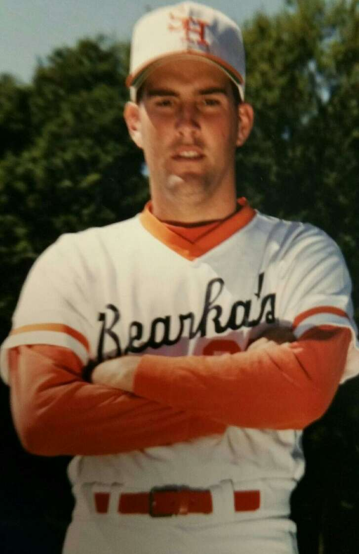 Jerry Tyson as a player for Sam Houston State, circa 1989.