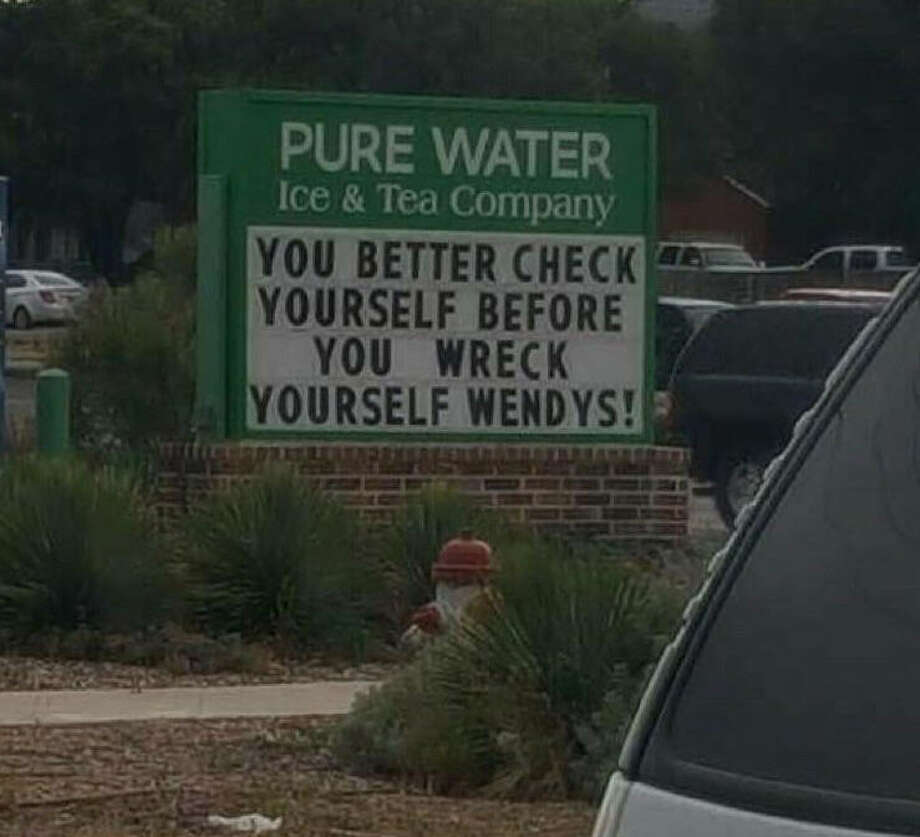 A Texas Redditor was able to capture the savagery between a Lubbock tea company and a nearby Wendy's location this past week. The companies appear to be beefing.Click through to get a taste of what was happening in Lubbock... Photo: SchrodingersMatt On Reddit