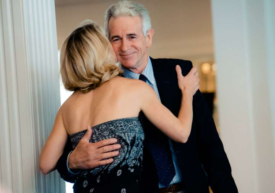Master of Ceremonies, actor James Naughton introduces keynote speaker Kelli O'Hara, one of Broadway's great leading ladies, and a Tony Award winning actor and singer at The Cultural Alliance of Fairfield County's Arts & Culture Empowerment (ACE) Awards at The Shore and Country Club in Norwalk, Conn. on Wednesday, May 7, 2017. Photo: Heather Prescott Photography / Contributed Photo / Norwalk Hour contributed