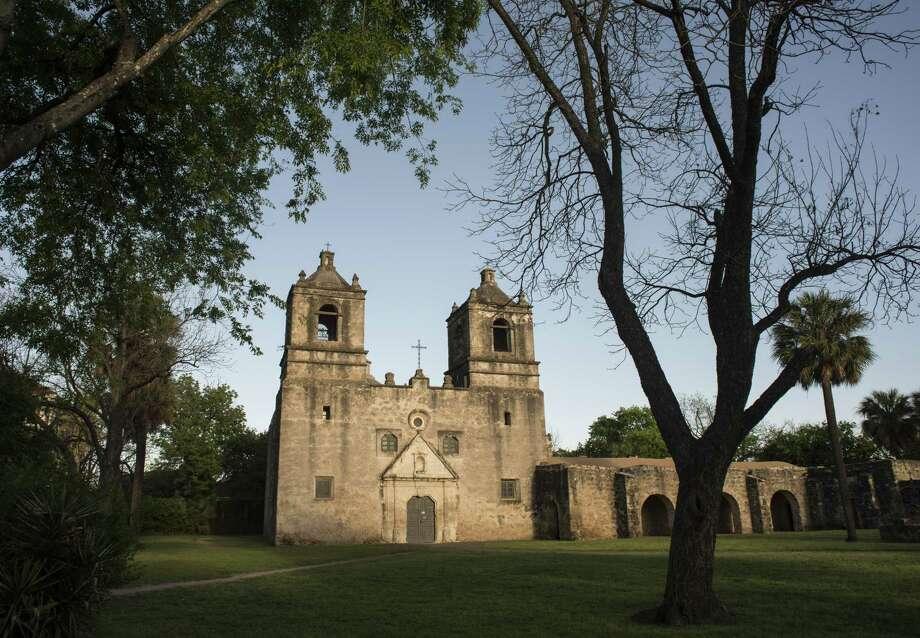 Mission Concepcion was dedicated in 1755. March 29, 2017. Photo: Billy Calzada / San Antonio Express-News / San Antonio Express-News
