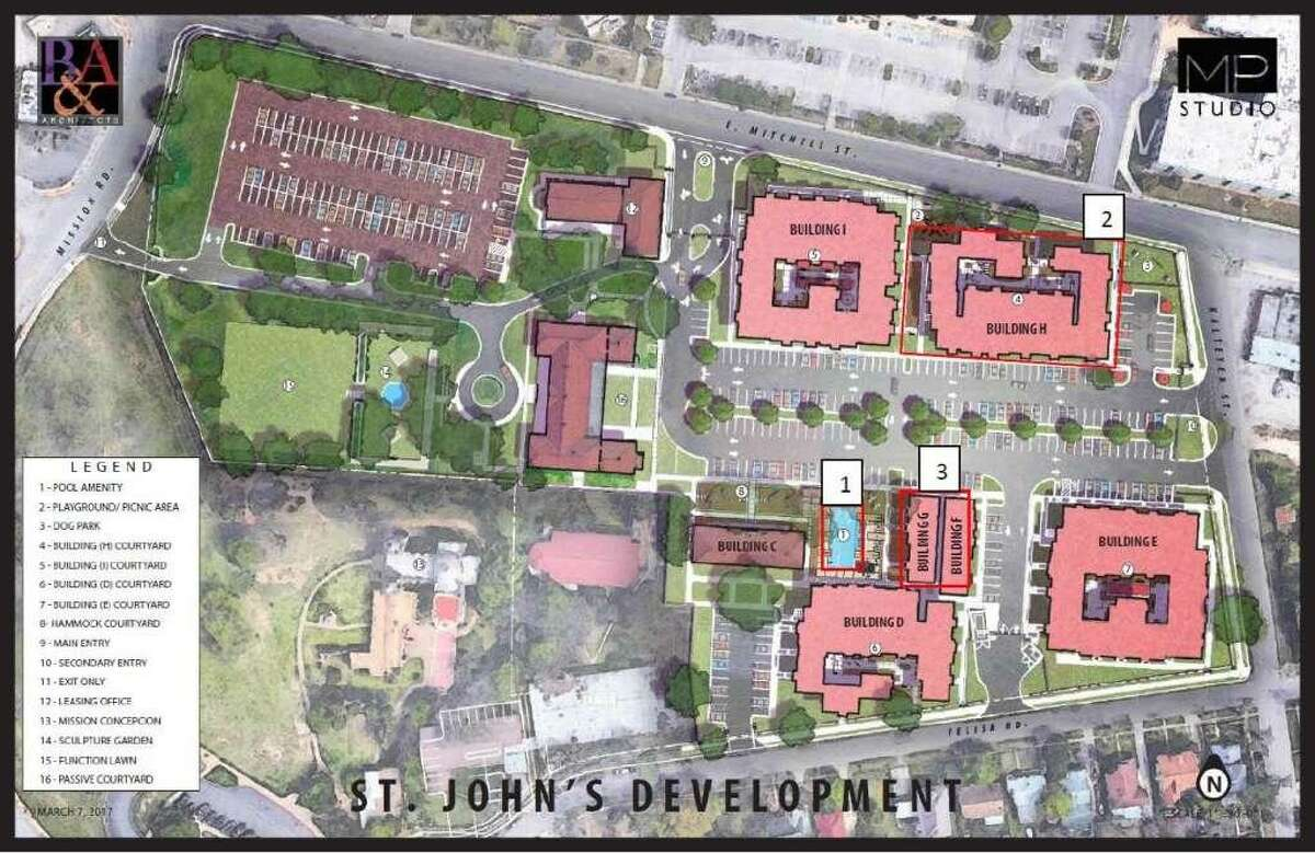 Local company 210 Development Group removed its proposal for an apartment complex next to the mission from Wednesday's agenda of the city Historic and Design Review Commission after city staff decided not to support its updated design.