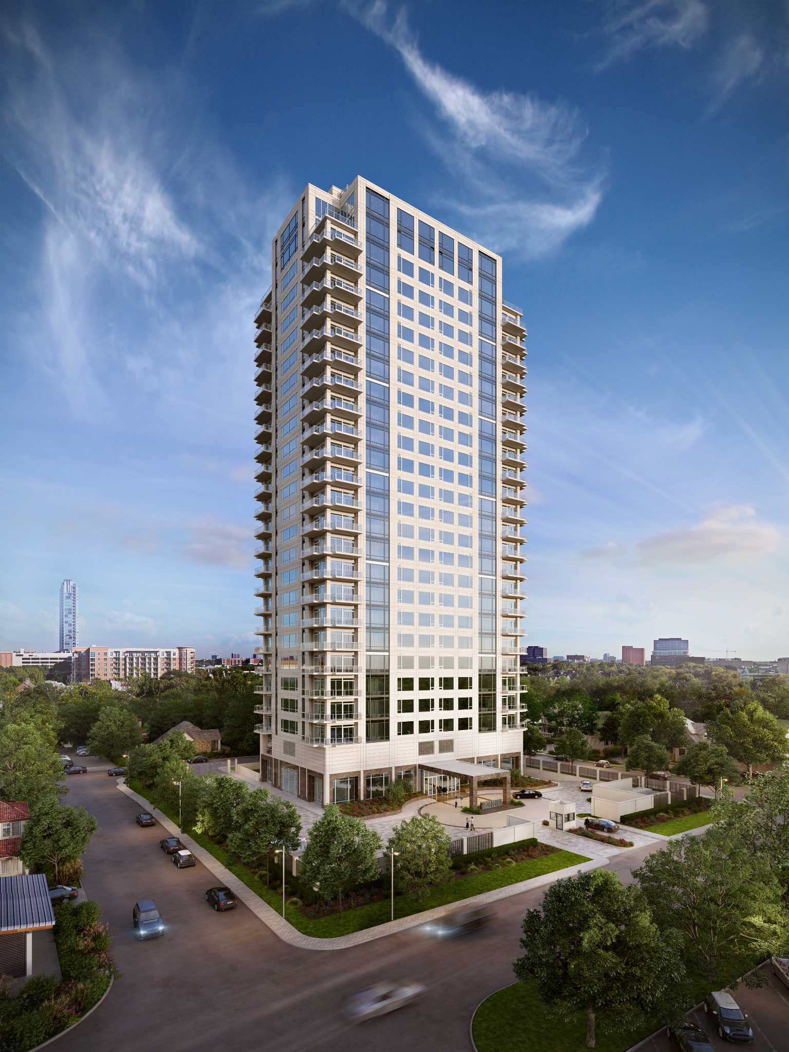 High Rise Builder Pulls Back On Luxury Tower Houston