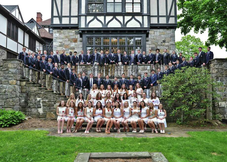 Eighty-six students, including 15 from the Greater New Milford area, recently graduated from The Gunnery, a private school in Washington. Photo: Courtesy Of The Gunnery / The News-Times Contributed