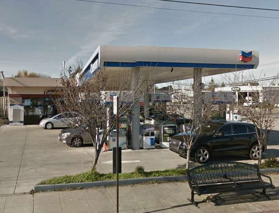 A gas station clerk was critically injured in a robbery in San Leandro, police said Wednesday.