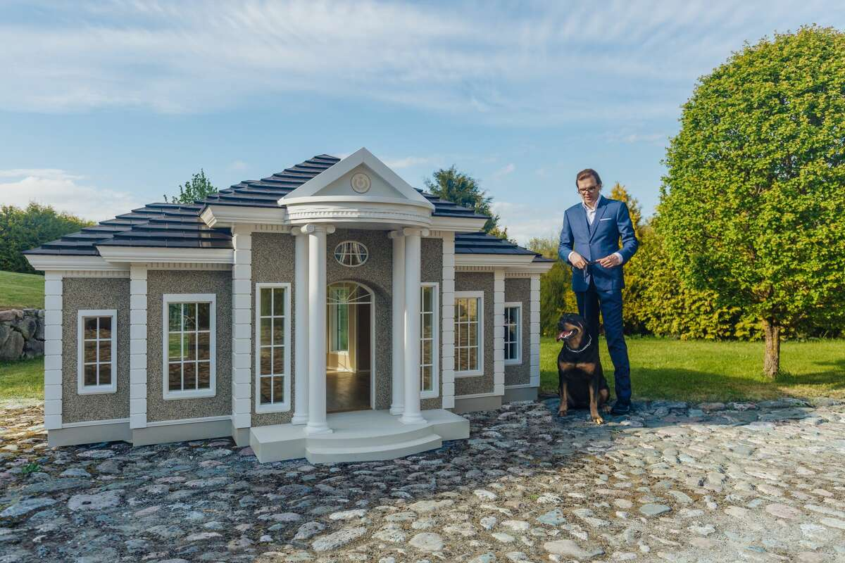 British-based Hecate Verona builds luxurious dog houses that can be customized and shipped all over the world.