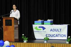 The Stamford Public Schools Adult & Continuing Education graduation ceremony at Cloonan Middle School in Stamford, Conn., Wednesday night, June 7, 2017.