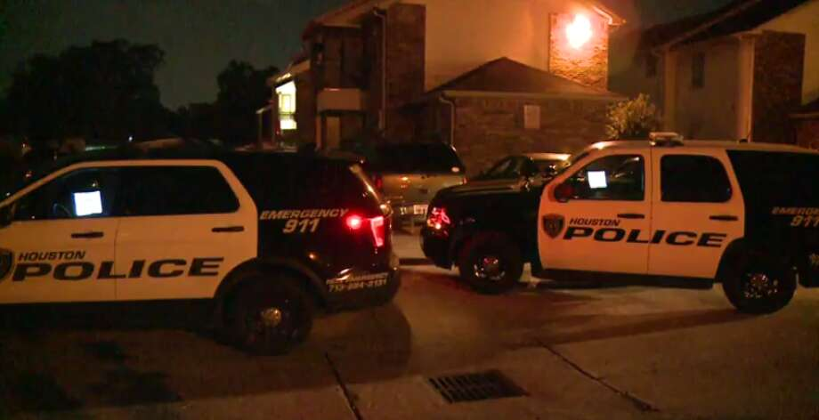 Houston police are investigating an armed robbery in north Houston that left one man injured early Thursday. (Metro Video) Photo: Metro Video