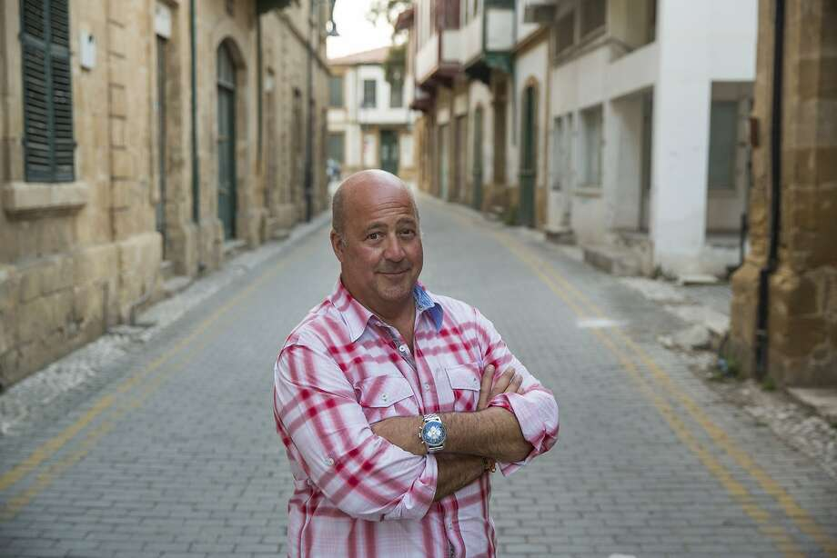 Andrew Zimmern, host of 'Delicious Destinations' on Travel Channel, recently let his views on popular review site Yelp known during a recent interview. Photo: Courtesy Of Travel Channel