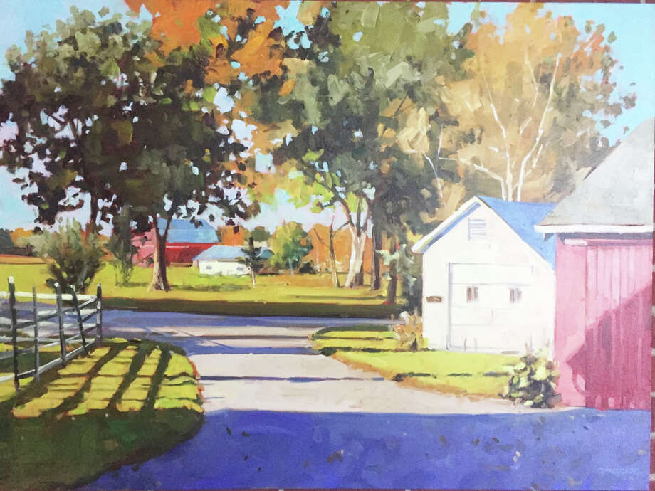 "Midland's Alan Maciag work ""Early Summer"" won first place at the annual Spring Into Art exhibition, which continues through Sunday, June 18, at First Congregational Church, 403 South Jefferson Ave. in Saginaw. Photo: Photo Provided"