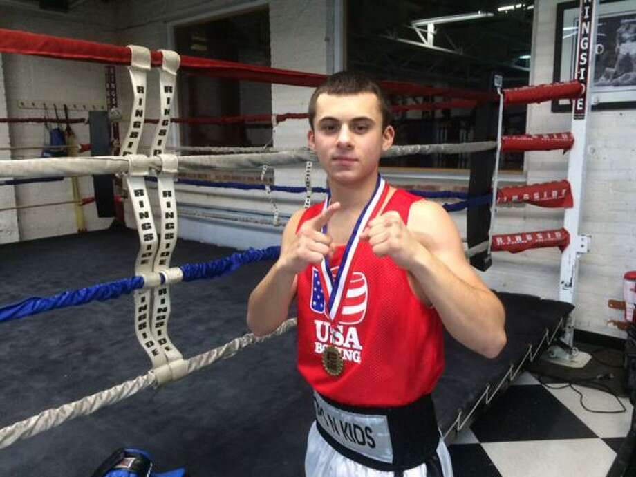 Olympic boxing hopeful Nick Scaturchio, 19, of Stamford, was charged this week with violating a judge's protective order, second-degree assault, disorderly conduct, criminal mischief, risk of injury to a child, robbery, larceny and threatening. Photo: Scott Ericson / Hearst Connecticut Media / Stamford Advocate Contributed