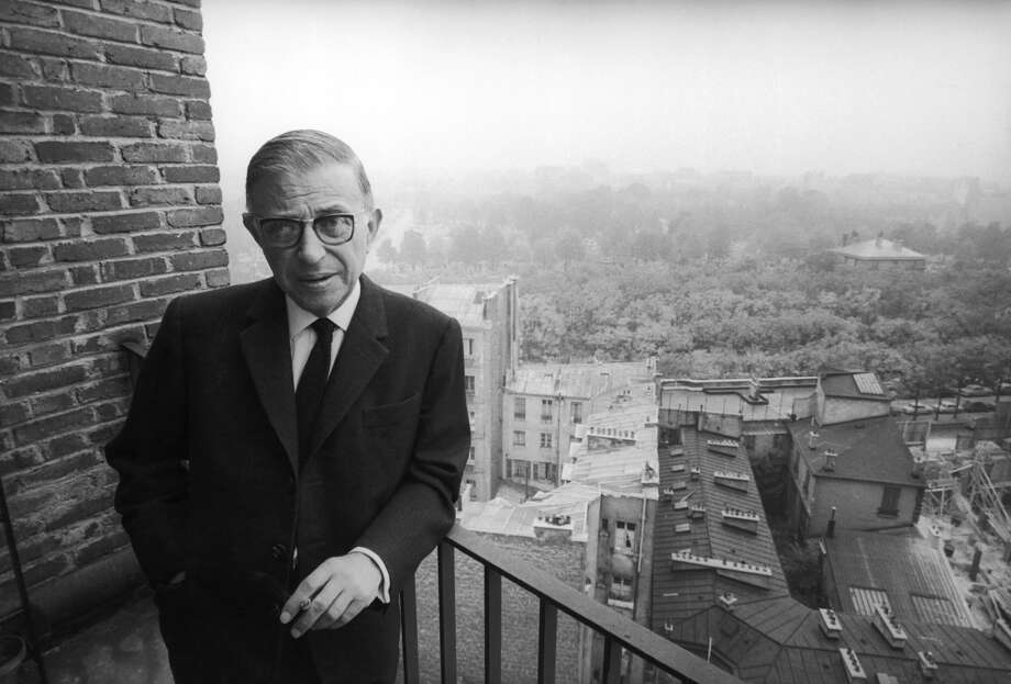 French writer and philosopher Jean-Paul Sartre maintained that true existentialism is assuming a radical responsibility for our choices — and our characters. Photo: Dominique Berretty / Getty Images