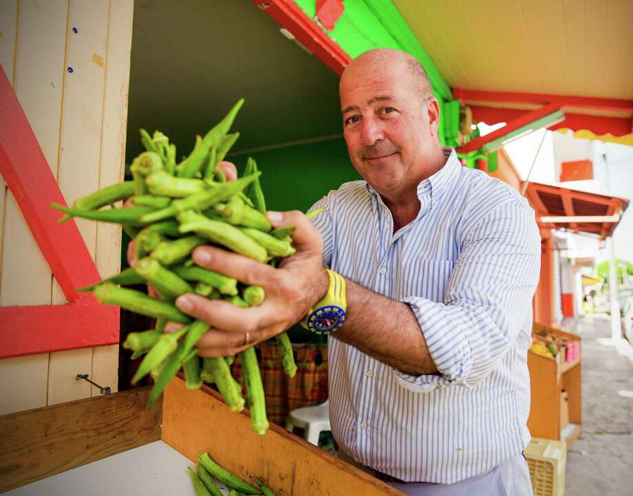 "Andrew Zimmern, host of ""Delicious Destinations"" on Travel Channel, brings viewers the spectacular sights, sounds and, most important, tastes of San Antonio in a new episode. Photo: Travel Channel / © 2015, The Travel Channel, L.L.C.  All Rights Reserved"
