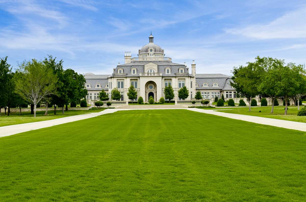 Click through this slideshow to see a $52 million, 48-square-foot mansion up for sale in Texas. A North Texas French mansion was reportedly sold at auction in June but after the highest bidder couldn't close on the house, it's still up for grabs.
