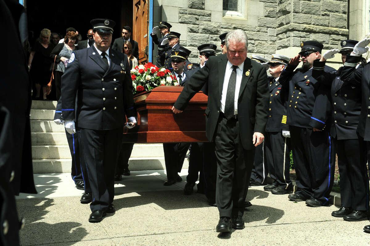The funeral for Seymour Volunteer Firefighter Kirk
