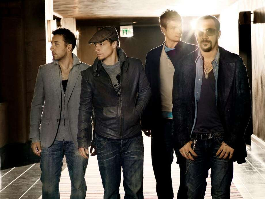 Backstreet Boys perform Tuesday at Mohegan Sun. Photo: Contributed Photo / Stamford Advocate Contributed