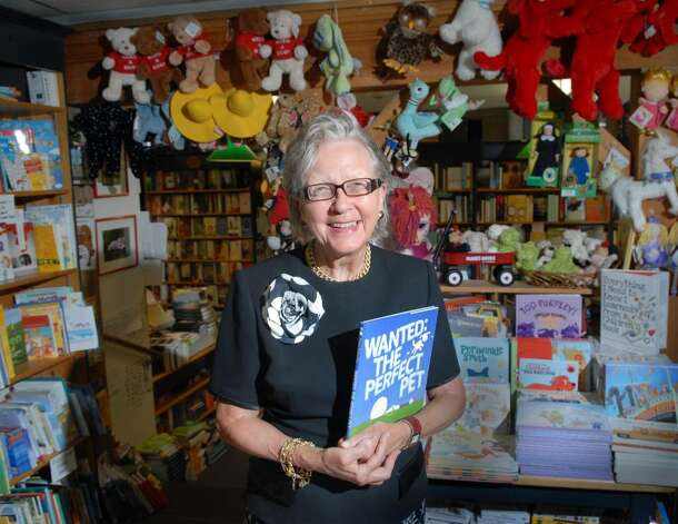 Diane Garrett owner of Diane's Books of Greenwich on Grigg Street off of lower Greenwich Avenue, poses inside her book store Tuesday, June 8, 2010.  Diane and her store will be celebrating 20 years in the business. Photo: Bob Luckey / Greenwich Time