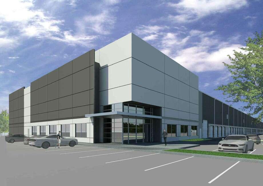 Kuraray America will occupy 465,851 square feet in two buildings in Bayport Logistics Park. Avera Cos. will develop the buildings for Kuraray. Photo: Avera Cos.