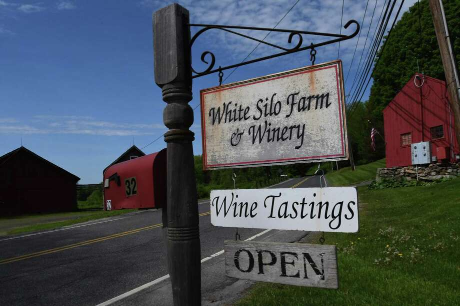 White Silo Farm & Winery in Sherman is the site for an annual Asparagus Festival in mid-May hosted by the Gorman family. Photo: Bradley E. Clift / For Hearst Connecticut Media / Bradley E. Clift (c) 2017.  All rights reserved by the photographer