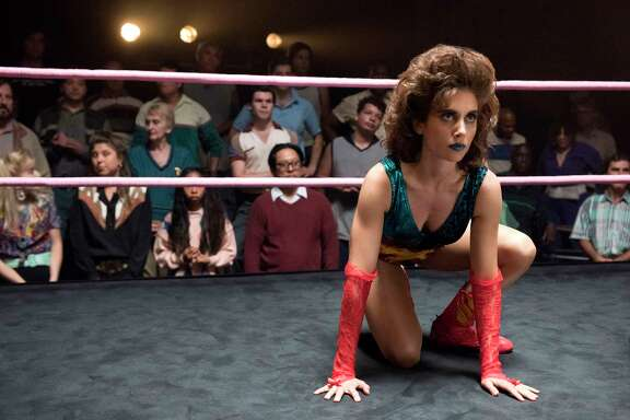 "Alison Brie plays Ruth, a serious but not very good actress, who takes a role as a wrestler in ""GLOW."""