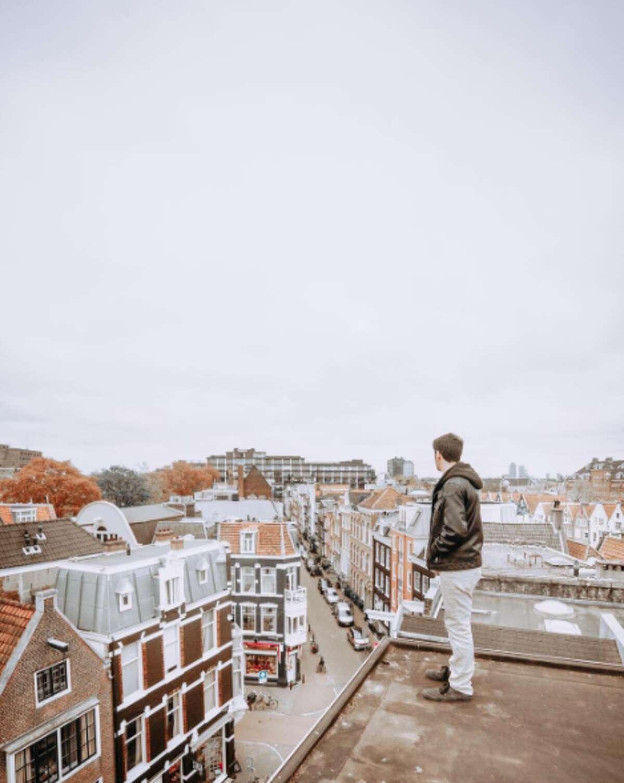 Baine in Amsterdam, Netherlands
