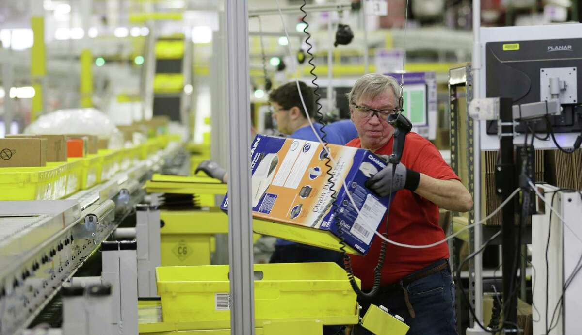 Amazon picks Connecticut site for $255M center and 1,800 jobs In June, Amazon announced it plans to build a $255 million distribution center in North Haven and hire 1,800 people to staff it. The office of Gov. Dannel P. Malloy said it would be extending up to $25 million in incentives for the project. Amazon currently employs 2,000 people in Connecticut at centers in Wallingford and Windsor. The company stated 1,500 of the jobs will be full time, with pay 30 percent higher than traditional retail jobs. Read more.