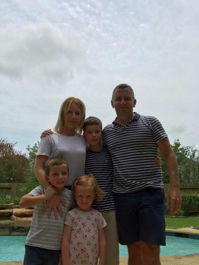 Euan Tait and his family moved from Scotland to Houston in April.