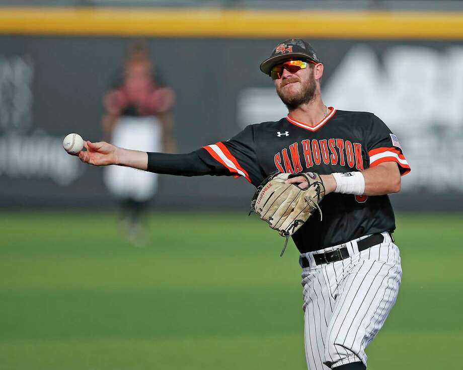 Lance Miles has enjoyed success throughout his steller baseball career, but he says it feels different at Sam Houston State, where expectations weren't as sky high. Photo: Brad Tollefson, MBI / Lubbock Avalanche-Journal