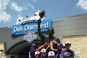 Photo taken Thursday at Dell Diamond Stadium where the Port Neches-Groves Indians challenge Wakeland High School during the State Tournament. Mike Tobias/The Enterprise