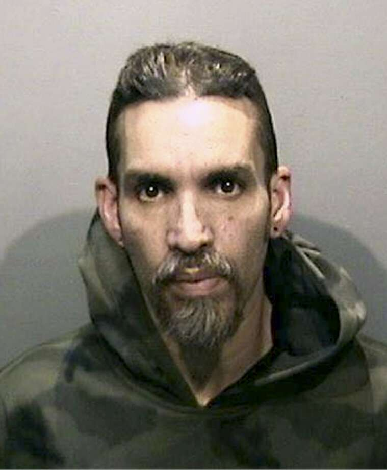 This Monday, June 5, 2017 photo released by the Alameda County Sheriff's Office shows Derick Almena at Santa Rita Jail in Alameda County, Calif. (Alameda County Sheriff's Office via AP) Photo: Associated Press