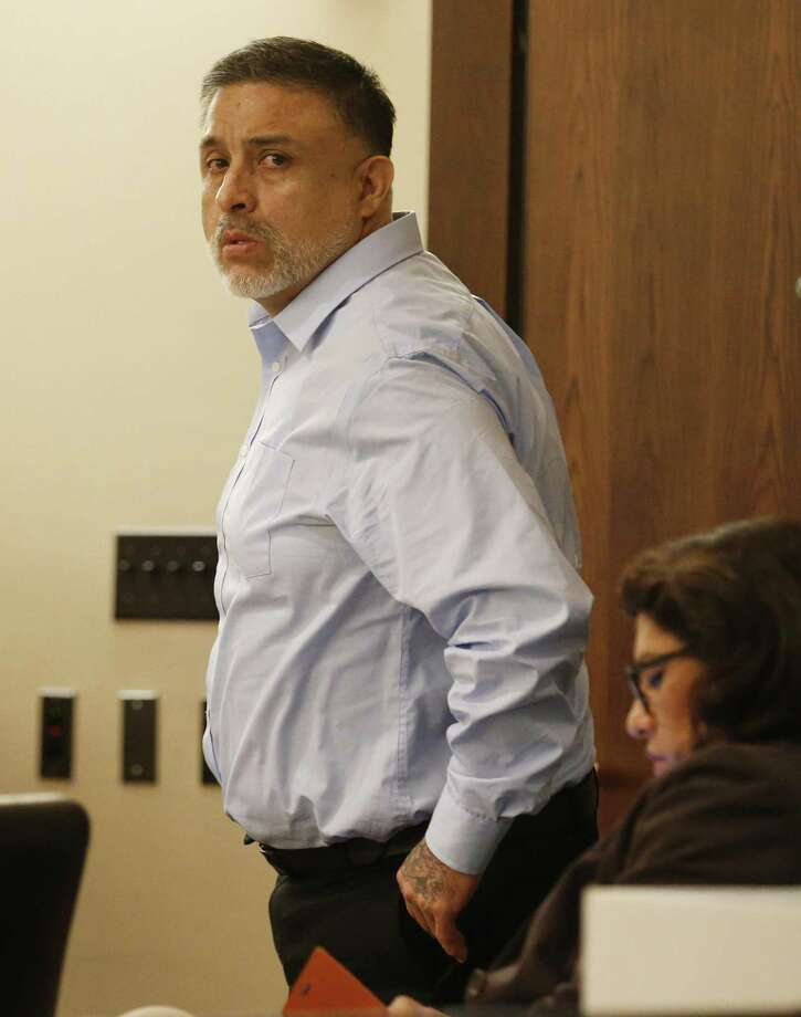 Testimony continues in the murder trial of Joel Soto (pictured), accused of setting a fire in his pickup to hide the fact that his two-year-old grandson, Jeremy Soto, was already dead, possibly from ingesting methamphetamine. The trial continued in 379th state District Court, presided by Judge Ron Rangel at Cadena-Reeves Justice Center on Thursday, June 8, 2017. (Kin Man Hui/San Antonio Express-News) Photo: Photos By Kin Man Hui /San Antonio Express-News / ©2017 San Antonio Express-News