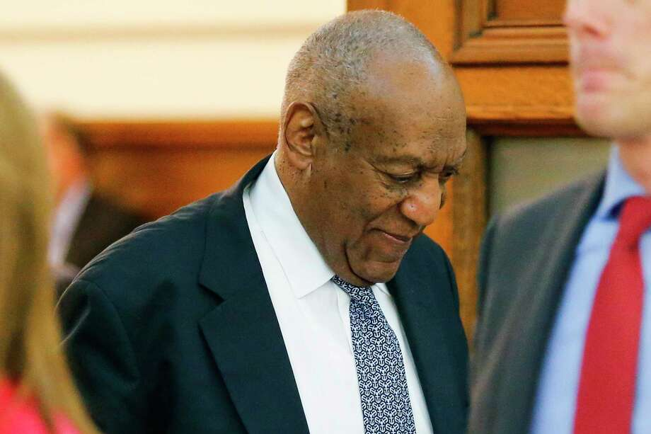 Actor Bill Cosby walks out of the courtroom during a break in his sexual assault trial at the Montgomery County Courthouse in Norristown, Pa., Thursday, June 8, 2017. (Eduardo Munoz Alvarez/Pool Photo via AP) Photo: Eduardo Munoz Alvarez, POOL / Eduardo Munoz Alvarez