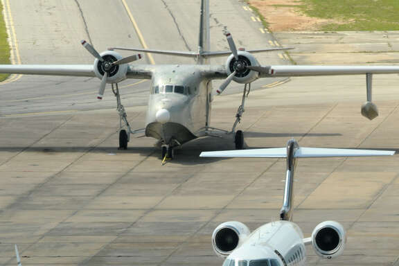 Officials at regional airports in the area, including Conroe-North Houston, are worried that the proposed privatization of the air-traffic control system would affect staffing and costs. (Photo by Jerry Baker)