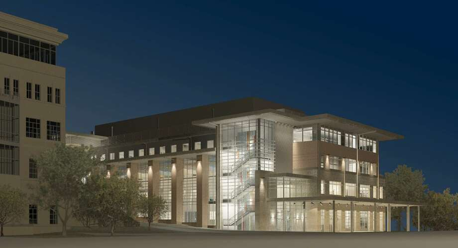 A rendering of University of Texas at San Antonio's new science and engineering building, which should open by 2020. Photo: Courtesy Of Alamo Architects And Treanor HL